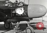 Image of P-61 Black Widow France, 1944, second 28 stock footage video 65675062292