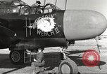 Image of P-61 Black Widow France, 1944, second 29 stock footage video 65675062292