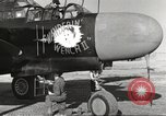 Image of P-61 Black Widow France, 1944, second 33 stock footage video 65675062292