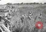 Image of prisoners of war Philippines, 1945, second 28 stock footage video 65675062293