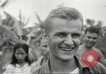 Image of American prisoners of war Philippines, 1945, second 53 stock footage video 65675062294