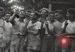 Image of American prisoners of war Philippines, 1945, second 55 stock footage video 65675062294
