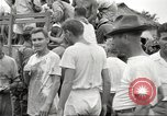 Image of American prisoners of war Philippines, 1945, second 3 stock footage video 65675062295