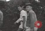 Image of American prisoners of war Philippines, 1945, second 25 stock footage video 65675062296