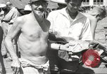 Image of American prisoners of war Philippines, 1945, second 14 stock footage video 65675062297