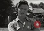 Image of American prisoners of war Philippines, 1945, second 15 stock footage video 65675062304