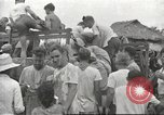 Image of US prisoners of war liberated from Japanese prison in World War II Cabanatuan Philippines, 1945, second 1 stock footage video 65675062318