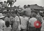 Image of US prisoners of war liberated from Japanese prison in World War II Cabanatuan Philippines, 1945, second 3 stock footage video 65675062318