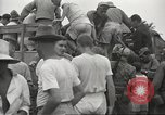 Image of US prisoners of war liberated from Japanese prison in World War II Cabanatuan Philippines, 1945, second 11 stock footage video 65675062318