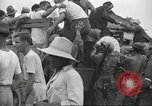 Image of US prisoners of war liberated from Japanese prison in World War II Cabanatuan Philippines, 1945, second 15 stock footage video 65675062318
