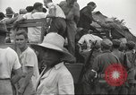 Image of US prisoners of war liberated from Japanese prison in World War II Cabanatuan Philippines, 1945, second 16 stock footage video 65675062318