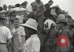 Image of US prisoners of war liberated from Japanese prison in World War II Cabanatuan Philippines, 1945, second 17 stock footage video 65675062318