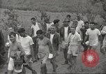 Image of US prisoners of war liberated from Japanese prison in World War II Cabanatuan Philippines, 1945, second 19 stock footage video 65675062318