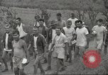 Image of US prisoners of war liberated from Japanese prison in World War II Cabanatuan Philippines, 1945, second 20 stock footage video 65675062318