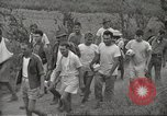 Image of US prisoners of war liberated from Japanese prison in World War II Cabanatuan Philippines, 1945, second 21 stock footage video 65675062318