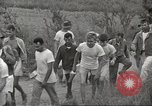 Image of US prisoners of war liberated from Japanese prison in World War II Cabanatuan Philippines, 1945, second 23 stock footage video 65675062318