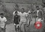 Image of US prisoners of war liberated from Japanese prison in World War II Cabanatuan Philippines, 1945, second 24 stock footage video 65675062318