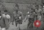 Image of US prisoners of war liberated from Japanese prison in World War II Cabanatuan Philippines, 1945, second 27 stock footage video 65675062318