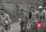 Image of US prisoners of war liberated from Japanese prison in World War II Cabanatuan Philippines, 1945, second 28 stock footage video 65675062318
