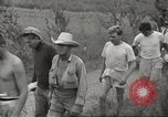 Image of US prisoners of war liberated from Japanese prison in World War II Cabanatuan Philippines, 1945, second 31 stock footage video 65675062318
