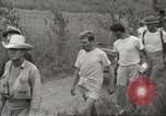 Image of US prisoners of war liberated from Japanese prison in World War II Cabanatuan Philippines, 1945, second 32 stock footage video 65675062318