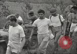 Image of US prisoners of war liberated from Japanese prison in World War II Cabanatuan Philippines, 1945, second 34 stock footage video 65675062318