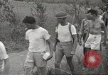 Image of US prisoners of war liberated from Japanese prison in World War II Cabanatuan Philippines, 1945, second 35 stock footage video 65675062318