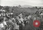 Image of US prisoners of war liberated from Japanese prison in World War II Cabanatuan Philippines, 1945, second 42 stock footage video 65675062318