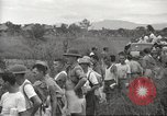 Image of US prisoners of war liberated from Japanese prison in World War II Cabanatuan Philippines, 1945, second 47 stock footage video 65675062318