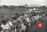 Image of US prisoners of war liberated from Japanese prison in World War II Cabanatuan Philippines, 1945, second 52 stock footage video 65675062318