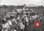Image of US prisoners of war liberated from Japanese prison in World War II Cabanatuan Philippines, 1945, second 54 stock footage video 65675062318