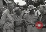 Image of American prisoners of war liberated from Japanese prison camp Guimba Philippines, 1945, second 8 stock footage video 65675062320