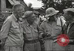 Image of American prisoners of war liberated from Japanese prison camp Guimba Philippines, 1945, second 13 stock footage video 65675062320