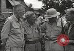 Image of American prisoners of war liberated from Japanese prison camp Guimba Philippines, 1945, second 14 stock footage video 65675062320