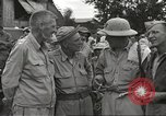 Image of American prisoners of war liberated from Japanese prison camp Guimba Philippines, 1945, second 15 stock footage video 65675062320