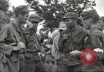 Image of American prisoners of war liberated from Japanese prison camp Guimba Philippines, 1945, second 17 stock footage video 65675062320