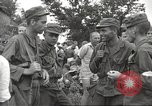 Image of American prisoners of war liberated from Japanese prison camp Guimba Philippines, 1945, second 19 stock footage video 65675062320
