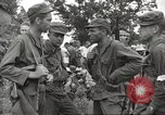 Image of American prisoners of war liberated from Japanese prison camp Guimba Philippines, 1945, second 27 stock footage video 65675062320