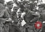 Image of American prisoners of war liberated from Japanese prison camp Guimba Philippines, 1945, second 28 stock footage video 65675062320