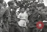 Image of American prisoners of war liberated from Japanese prison camp Guimba Philippines, 1945, second 33 stock footage video 65675062320