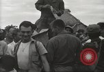Image of American prisoners of war liberated from Japanese prison camp Guimba Philippines, 1945, second 41 stock footage video 65675062320