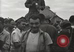 Image of American prisoners of war liberated from Japanese prison camp Guimba Philippines, 1945, second 42 stock footage video 65675062320