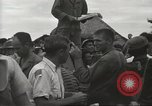 Image of American prisoners of war liberated from Japanese prison camp Guimba Philippines, 1945, second 45 stock footage video 65675062320