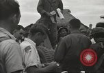 Image of American prisoners of war liberated from Japanese prison camp Guimba Philippines, 1945, second 47 stock footage video 65675062320