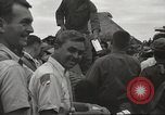 Image of American prisoners of war liberated from Japanese prison camp Guimba Philippines, 1945, second 48 stock footage video 65675062320