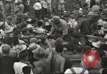 Image of American prisoners of war liberated from Japanese prison camp Guimba Philippines, 1945, second 51 stock footage video 65675062320