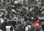 Image of American prisoners of war liberated from Japanese prison camp Guimba Philippines, 1945, second 53 stock footage video 65675062320
