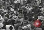 Image of American prisoners of war liberated from Japanese prison camp Guimba Philippines, 1945, second 54 stock footage video 65675062320