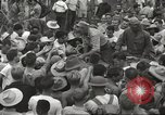 Image of American prisoners of war liberated from Japanese prison camp Guimba Philippines, 1945, second 55 stock footage video 65675062320