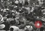 Image of American prisoners of war liberated from Japanese prison camp Guimba Philippines, 1945, second 56 stock footage video 65675062320